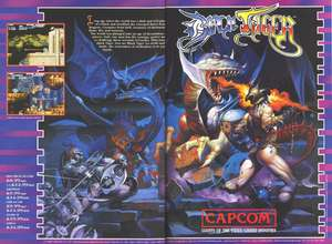 Promo en inglés del juego de Capcom Black Tiger en diferentes versiones para ordenador